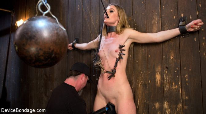 Mona Wales in  Devicebondage Dominatrix is Destroyed with Brutal Domination in Strict Bondage April 08, 2016  The Pope, Straight