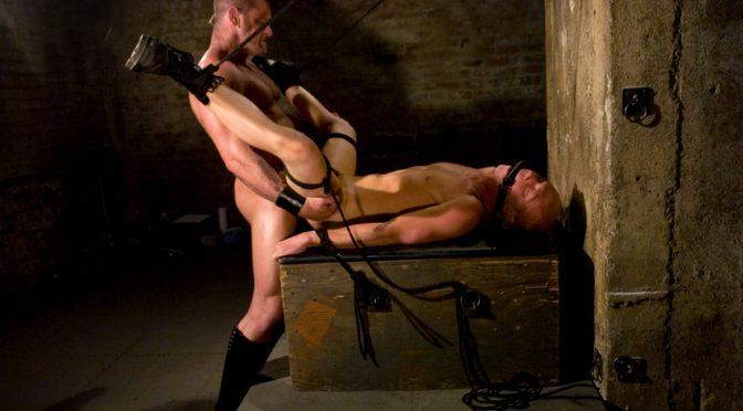 Chet Walker in  Boundgods Master Tober Brandt and slave chet. July 03, 2008  Corporal Punishment, Slave