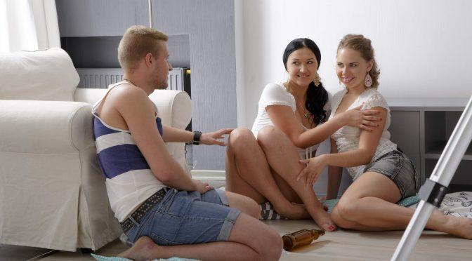 Diana Dali in  Firstbgg Girls Share Cock Sensually April 27, 2015  Anal, BGG