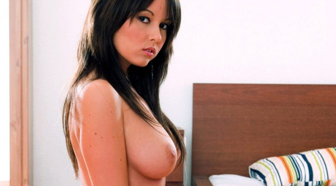 Angel Kiss in  Private Angel Kiss Masturbates on Camera for First Time April 09, 2013  Big Natural Breasts, HD