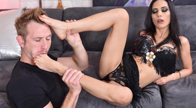Tia Cyrus in  21sextury Esoteric Erotica December 06, 2015  Foot, Babes