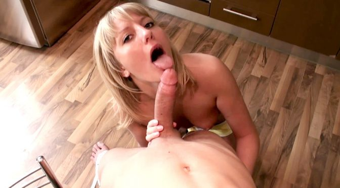 Nika in  Private Teen Nika Seduces Her Man in the Kitchen Where He Fucks Her April 22, 2014  ATM, Gaping