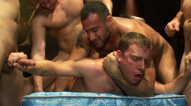 Spencer Reed in  Boundinpublic The Brutal Annihilation of Sebastian Keys February 08, 2015  Bondage, Rope Bondage