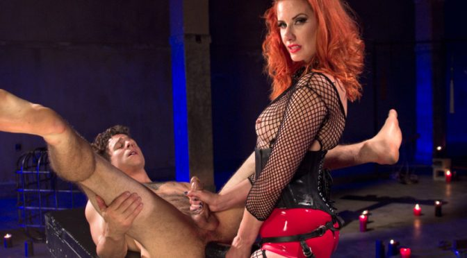 Maitresse Madeline MarloweCorbin Dallas in  Divinebitches The Maitresse Milks Virgin Prostate and Punishes Dripping Cock! October 01, 2014  Dildo, Fingering