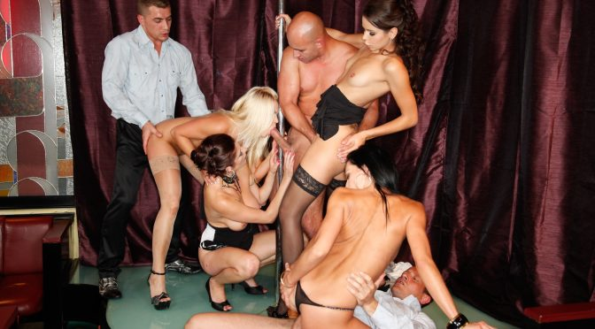 Angie in  Doghousedigital 5 Incredible Orgies, Scene #02 November 23, 2014  Petite, Big Tits