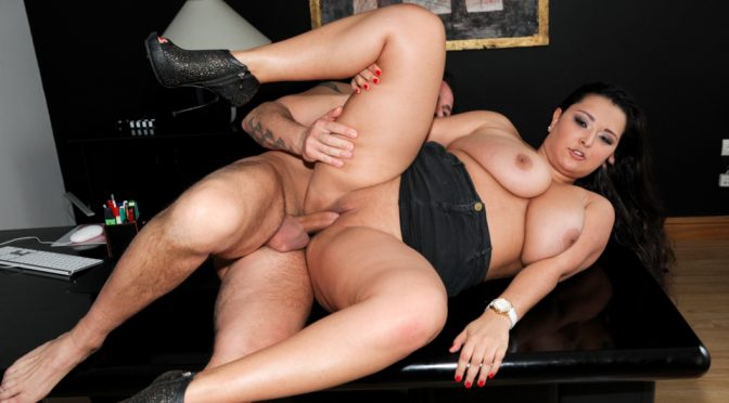 Abbie Cat in  Evilangel Big And Real #06 June 13, 2013  Pussy To Mouth, Pornstar