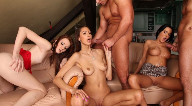 Angie in  Doghousedigital CUMSHOTS-Swingers Orgies December 13, 2011  Big Tits, Natural Tits