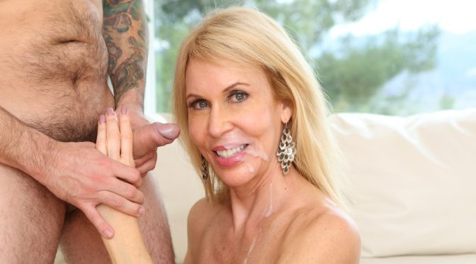 Erica Lauren in  Devilsfilm Horny Grannies Love To Fuck #07, Scene #02 February 11, 2015  Hardcore, Natural Tits