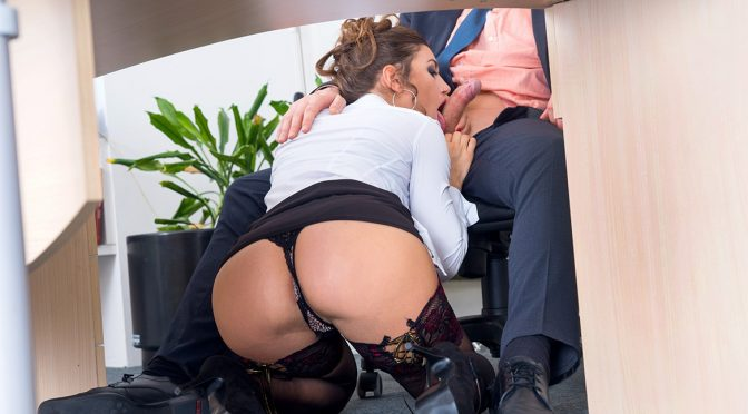 Julia Roca in  Private Julia Roca Has Her Hairy Pussy Pounded in the Office May 27, 2016  Deep Throat, Brunettes