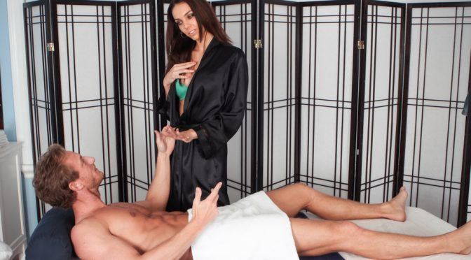 Tiffany Tyler in  Massage-parlor The Main Course February 20, 2013  Skinny, Kissing