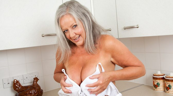 April Thomas in  Anilos Lovely Boobs December 23, 2012  Big Boobs, Housewife