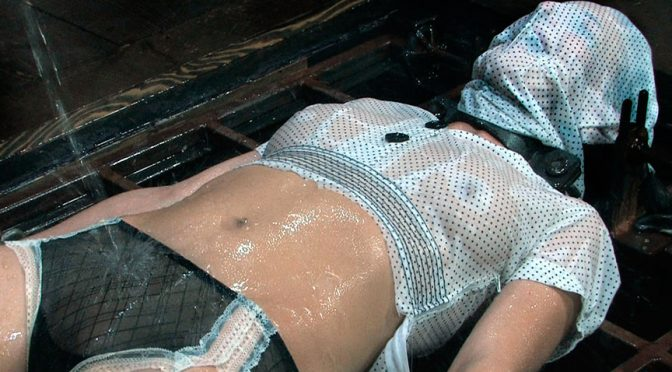 Elise Graves in  Realtimebondage Chinese Water Torture August 21, 2009  Rough Sex, Bondage