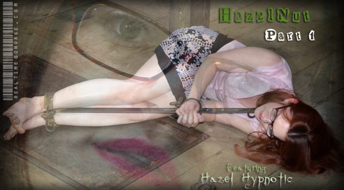 Hazel Hypnotic in  Realtimebondage HazelNut Part One September 24, 2011  Cage Suspension, Fiddle