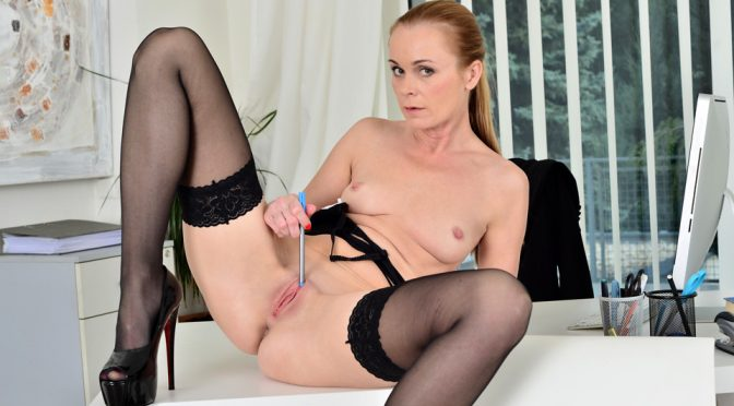 Nica in  Anilos Naughty Fun November 11, 2016  Solo, Shaved Pussy
