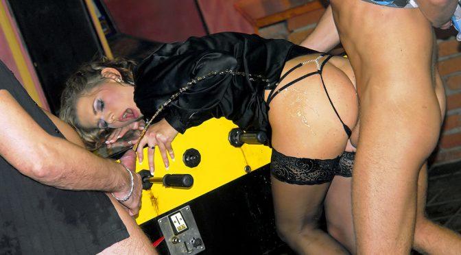 Rihanna Samuel in  Pissinginaction Piss Fucking Is The Hottest Bar Game Around December 02, 2011  Fetish, Golden Shower