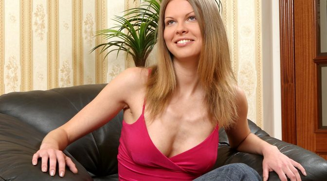 Karolina in  Sapphicerotica Strapon Surprise September 13, 2005  GG Kissing, Tag Exclusive
