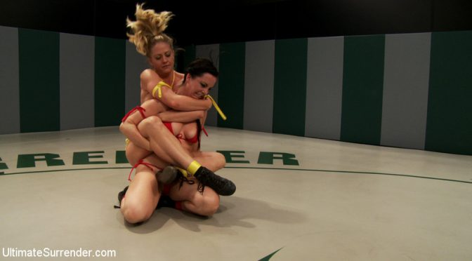 Katie Summers in  Ultimatesurrender Bonus: Serena Blair vs Katie Summers & Bryn Blayne vs Holly Heart July 24, 2012  Submission, Domination