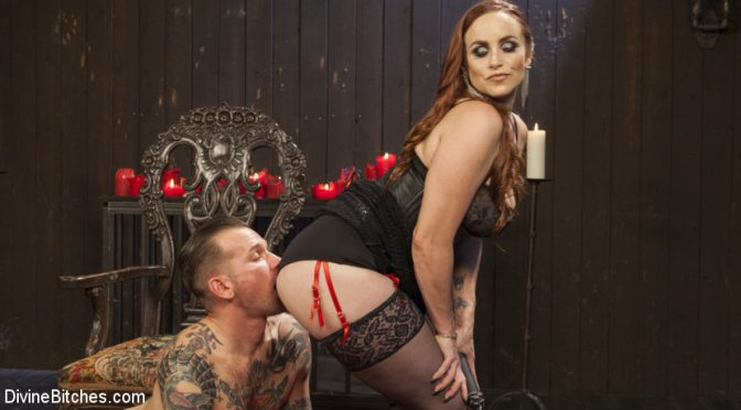 Will Havoc in  Divinebitches The Perfect Slave For Perfect Service December 09, 2016  Prostate Stimulation, CBT