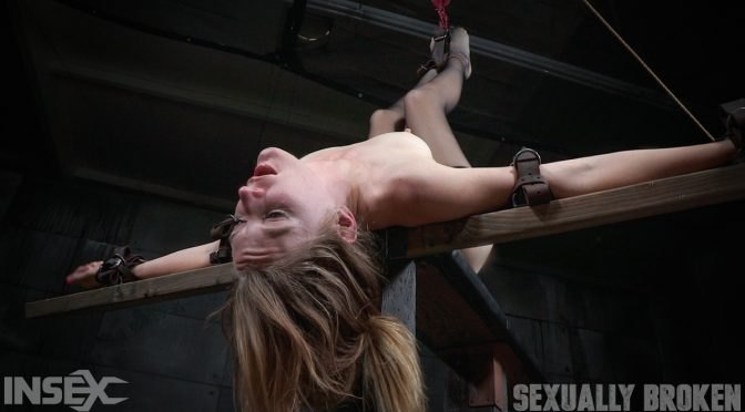 Mona Wales in  Sexuallybroken Lean all natural Mona Wales bound in inverted tie and dicked down without mercy by 3 cocks! May 04, 2016  Blonde, Small Tits