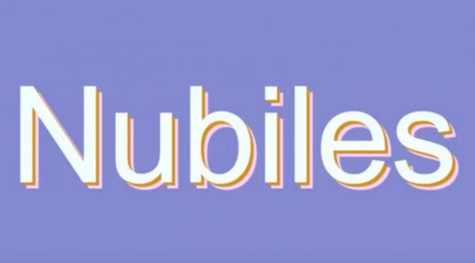 Vika in  Nubiles Voyeurbath1 June 02, 2006  Puffy Nipples, Brunette
