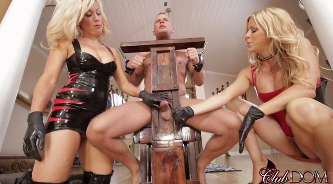 Alexis Fawx in  Clubdom Sex Slave For Blondes Part 4: Hardcore Milking May 25, 2016  Handjobs