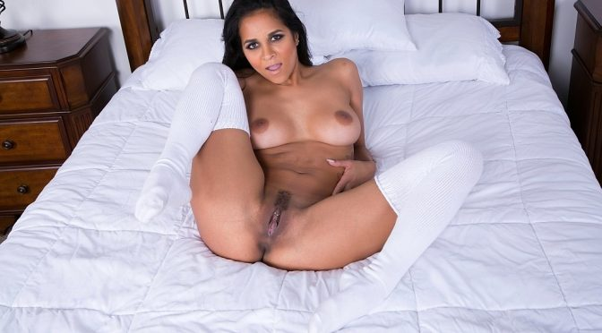 Abby Lee Brazil in  Cherrypimps Fucking Abbys Pussy LIVE December 23, 2015  Live Show Archives, Panties