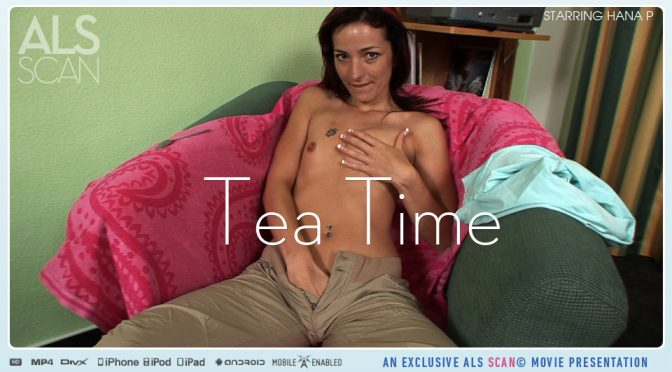 Hana P in  Alsscan Tea Time August 06, 2010  Baby Oil