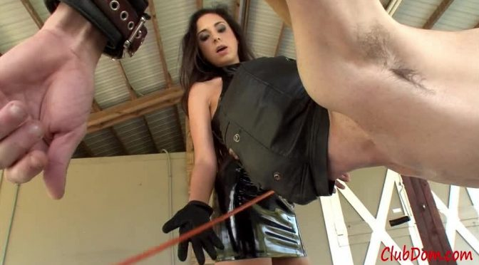 Trinity St. Clair in  Clubdom Wet Pussy Caning May 12, 2013  Caning