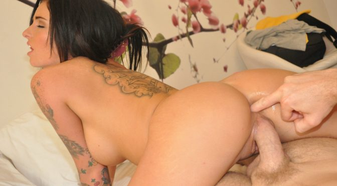 Christy Mack in  Letstryanal Anal With An Attitude April 13, 2012  First Time Anal, Anal