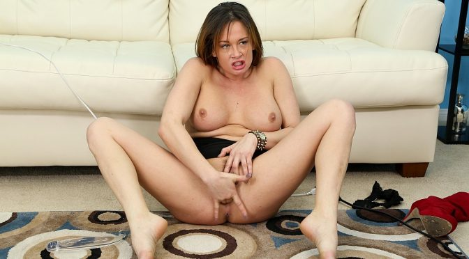 Tory Lane in  Cherrypimps Tory Lane LIVE February 04, 2014  Solo, Brunette