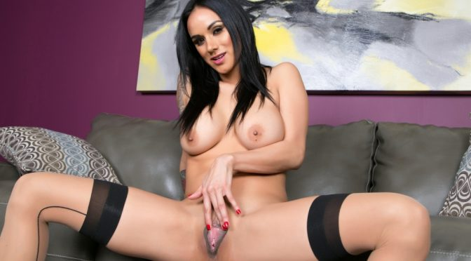 Nadia Styles in  Cherrypimps Big Beautiful Pussy Lips October 04, 2016  Lingerie, Black Hair