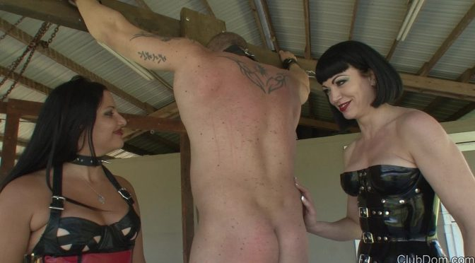 Jean Bardot in  Clubdom A Bitch for FemDom Part 2 June 04, 2014  Whipping