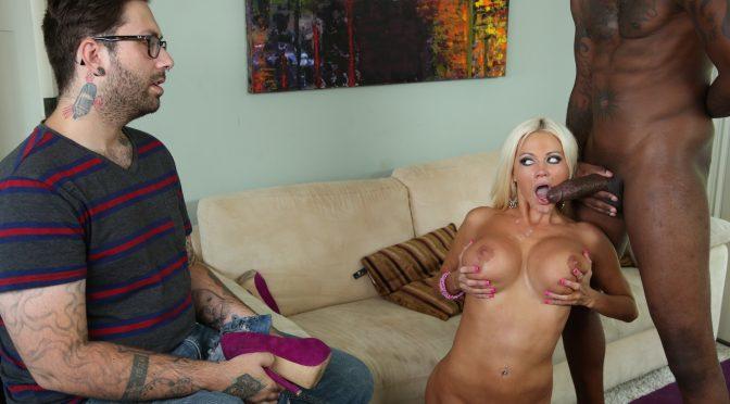 Nikita Von James in  Realityjunkies Mom's Cuckold #13, Scene #01 November 05, 2013  Big Tits, Titty Fuck