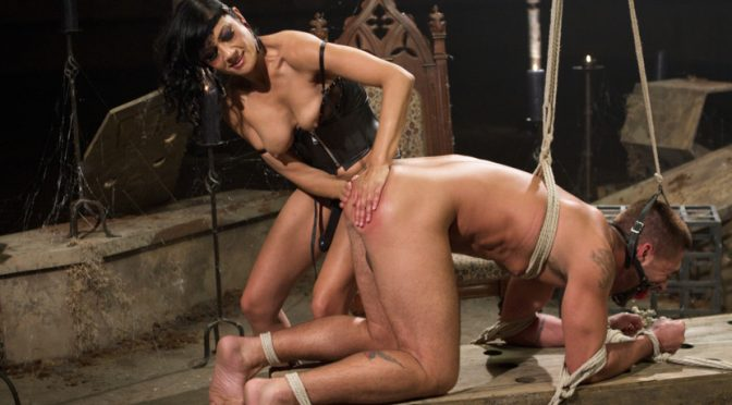 Dominic Pacifico in  Divinebitches Divine Mummification Sex October 31, 2012  Pain, Pussy Eating