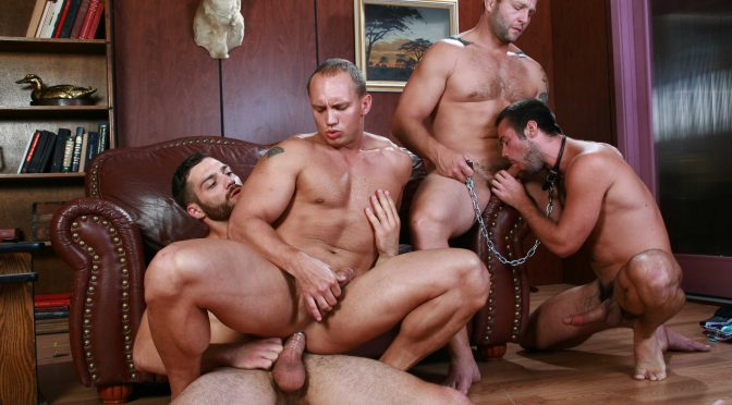 Colby Jansen in  Jizzorgy Trying Out The Goods November 28, 2013  Gay Porn