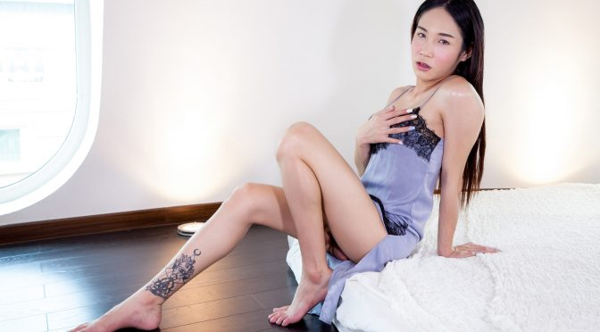Alice in  Ladyboyladyboy Charming Alice Strips And Strokes Her Cock! October 13, 2017  Transsexual