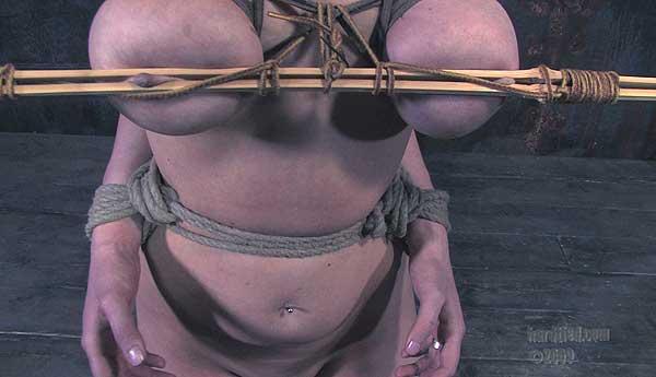 Cherry Torn in  Hardtied Transfiguring Desire December 03, 2008  BDSM, Kinky Fetish