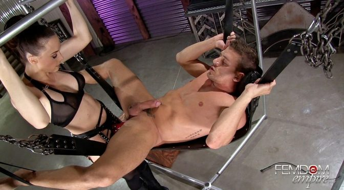 Chanel Preston in  Femdomempire Sodomized Slave-Hole September 01, 2016  Anal Play