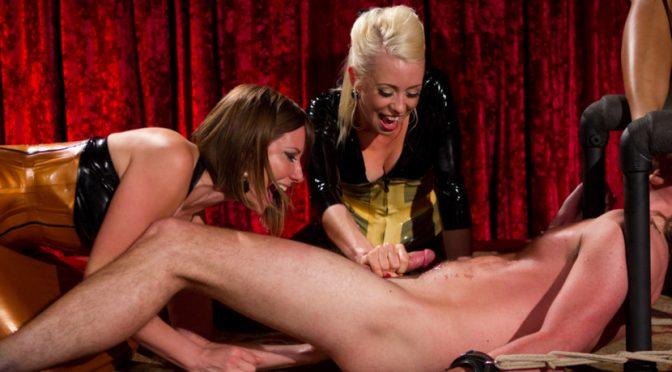 Lorelei Lee in  Divinebitches Visual Sensation: CFNM FemDom Theatre July 27, 2011  Bdsm, Prostate Stimulation