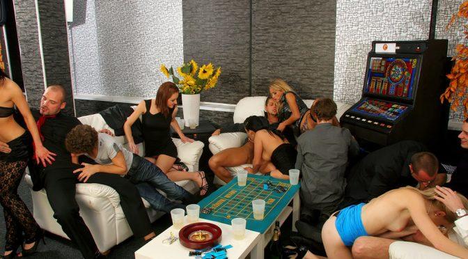 Adel Sunshine in  Bimaxx Always Bet On Bi Part 1 November 28, 2011  Bisexual, Orgy