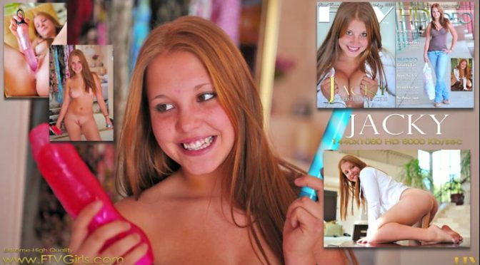 Jacky in  Ftvgirls Straight to the Toys May 20, 2010  Extreme Girl, First Time Experience