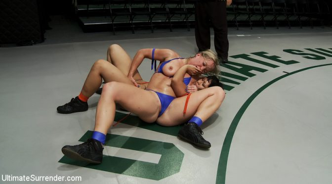 DragonLily in  Ultimatesurrender Dragon Destroyed on the Mat!Made to CUM During Wrestling! She is in tears trying not to cu September 03, 2010  Lesbian Anal, Wrestling