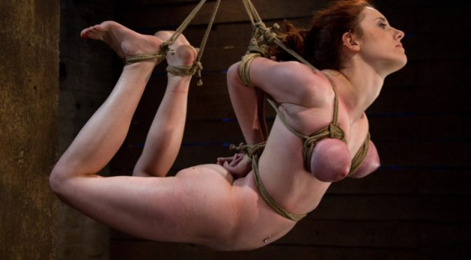 Iona Grace in  Hogtied Hot 19 yr old suffers a category 5 Hogtied suspension.  Isis Love makes her cum over and over November 15, 2010  Fingering, Ball Gag