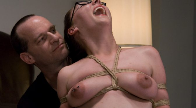 Maggie Mayhem in  Hogtied Casting Couch 9: Maggie Mayhem, Sweet & Innocent my Ass! April 18, 2009  Submission, Straight