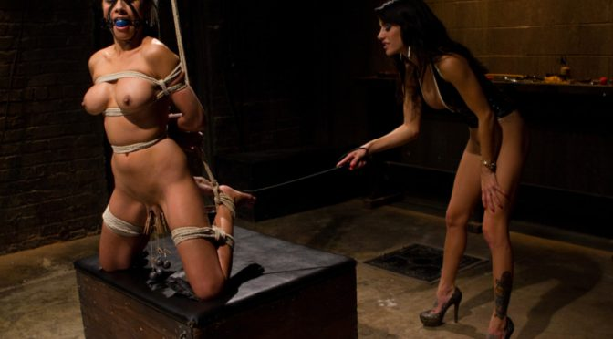 Gia DiMarco in  Whippedass Beretta James October 21, 2011  Dominatrix, Caning