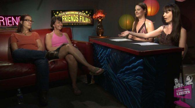 Dana DeArmond in  Girlfriendsfilms Kinky Creepy 037 December 07, 2012  Brunette