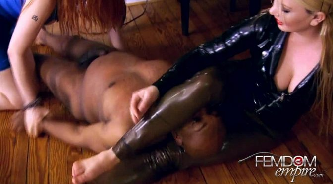 Jordan Jones in  Femdomempire Smothered by Ass March 01, 2012  Face Sitting