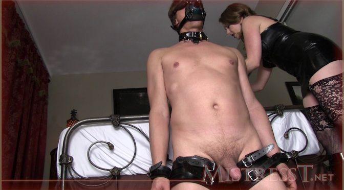 Mistresst Long Teasing Kinky Milking December 26, 2014  Latex, HAND JOBS