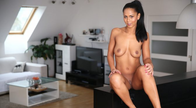 Isabella Chrystin in  Nubiles Clit Play April 05, 2016  Solo, Medium Boobs
