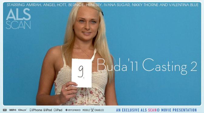 Amirah in  Alsscan Buda'11 Casting 2 December 29, 2011  Bts